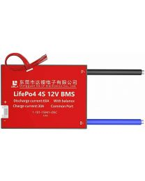 Daly LiFePO4 BMS PCB 4S 12V 80A Battery Management System