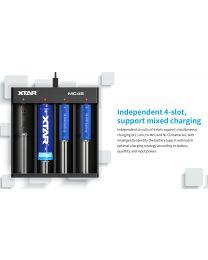 Xtar MC4 Battery Charger/